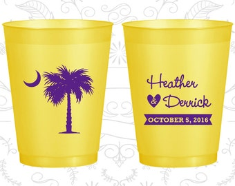 Palmetto Tree, Promotional Shatterproof Cups, Crescent Moon, South Carolina Palmetto, Palmetto Tree Moon, Palmetto Moon (77)
