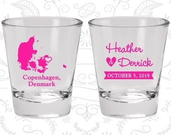Denmark Shot Glass, Denmark Shot Glasses, Denmark Glass, Denmark Glasses, Denmark Glassware (171)