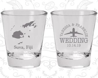Fiji Shot Glass, Fiji Shot Glasses, Fiji Glass, Fiji Glasses, Fiji Glassware (173)