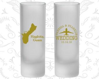 Guam Wedding, Frosted Tall Shot Glasses, Destination Wedding, Hagatna Wedding (179)