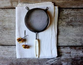 Vintage kitchen sieve