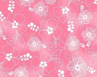 Loralie Designs - Lacey Hibiscus Pink