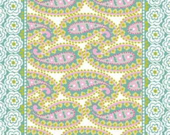 Blend Fabrics - Teardrops Turquoise - Paisleigh Collection - 101.108.05.2