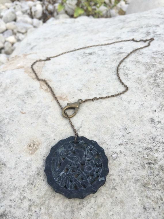 Jade Lariat Necklace