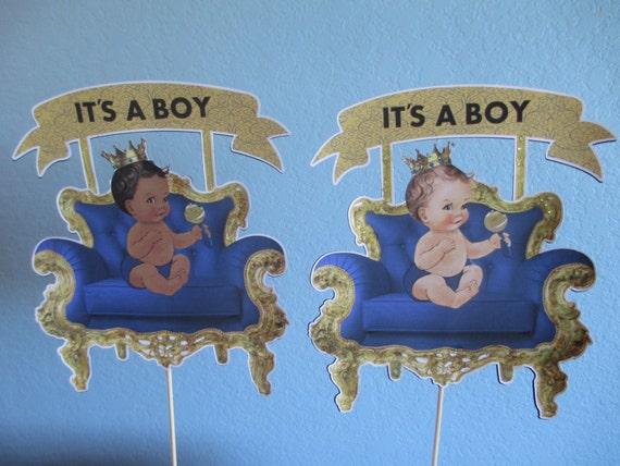 Prince Cake TopperRoyal baby showerPrince birthday themePrinces