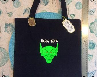 "Small ""Happy Toyz"" Totebag"