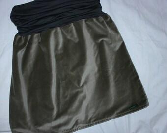 """Skirt """"Grey velvet"""""""