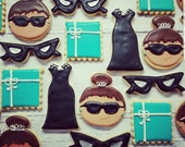 Tiffany inspired cookies