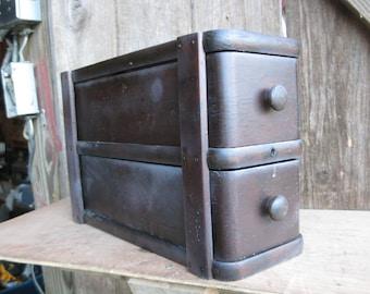 Antique Vintage Singer Sewing Machine Drawer Cabinet Perfect Repurpose Piece