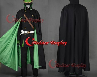 Seraph of the End Vampire The Moon Demon Company Yuichiro Hyakuya Uniform Anime Cosplay Costume