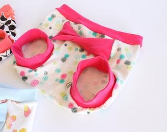polka dot shorts 18-24 months