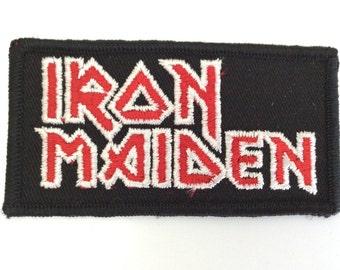 Vintage Iron Maiden Patch