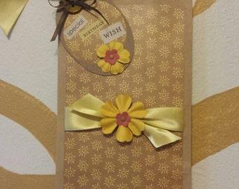 Birthday gift bag and tag