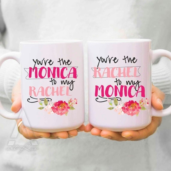 Christmas Gift Ideas For Girl Best Friends: Best Friend Mugs Christmas Gifts You Are The Monica To