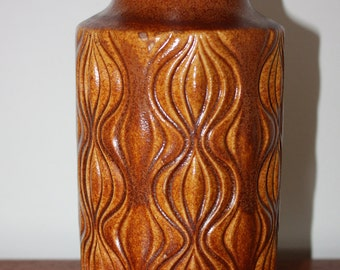 West German Scheurich Amsterdam Sliced Onion Vase