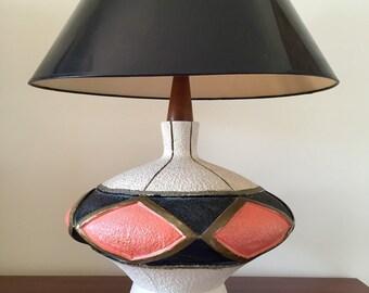 Mid Century Table Lamp / Midcentury Lamp