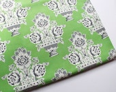 Governors Palace Fabric in Green 1 Yard The Colonial Williamsburg Foundation Windham Fabrics Quilting Sewing Supplies Stash Regal Decor