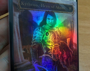 1x Foil Altered Checklist for Kytheon, Hero of Akros MTG