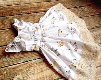 Winter Fawn Dress