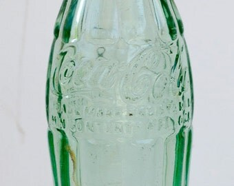 Vintage 6.5oz Coca-Cola Coke bottle.