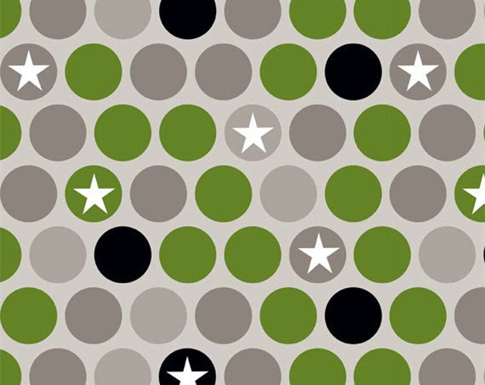Half Yard Military Max - Military Main in Gray (Taupe) - Cotton Quilt Fabric - by Bella Blvd. for Riley Blake Designs - C4370-GRAY (W3277)