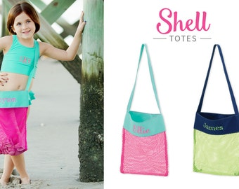 Personalized Shell Tote