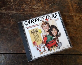 CARPENTERS CHRISTMAS Portrait CD-Special Edition-Rare- 70 Minutes- Karen & Richard Carpenter- 34 Songs- Christmas Music Compact Disc