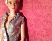 HautePoppet jumpsuit for classic size barbie doll