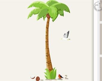 "Wall decal palm ""BIG"""