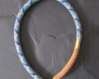 Climbing rope necklace