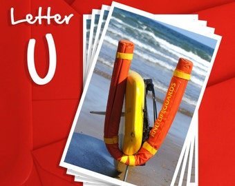 Alphabet Photography Letter U Choices, Alphabet Photography 6x4, 7x5 or 8x6 Prints