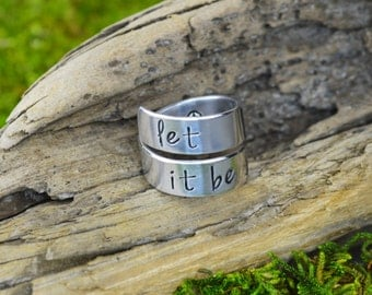 Let It Be Wrap Ring
