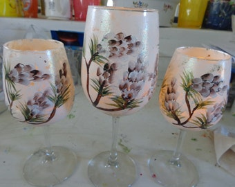 HAND PAINTED CANDLES