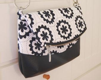 Freesia Foldover Bag