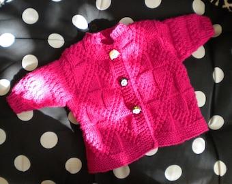 Wisty Wear Handknit Baby Sweater