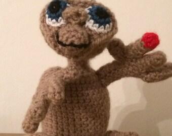 E.T. Crochet Alien