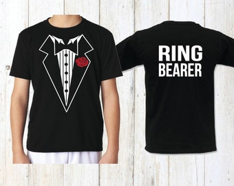 Ring Security, ring bearer, boys tshirt, ring bearer shirt, wedding, ring bearer gift, wedding gift