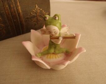 Napco Birthday Flower Pixie July