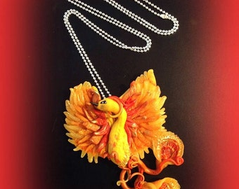 phoenix necklace made to order