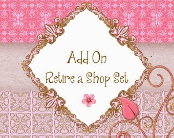 Add On Retire A Premade Set | Any Premade Banner Set | Premade Shop Set/Purchase Owner Rights