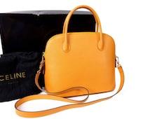 celine vintage 70s briefcase
