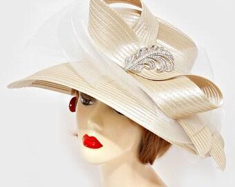 Satin Ribbon Hat