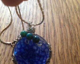Blue Dragon Agate