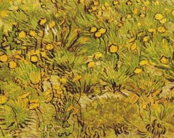 A Field of Yellow Flowers PDF Cross Stitch Pattern