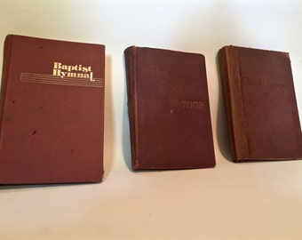 ONLY 1 SET REMAINING! Old Hymnals