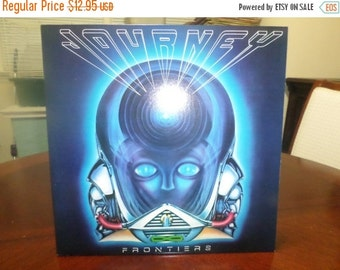 Save 30% Today Vintage 1983 Vinyl Record Journey Frontiers Near Mint Condition 5095