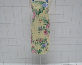 Upcycled apron