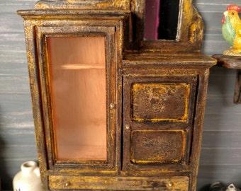 Dollhouse Miniature Full Scale Wardrobe  1/12 scale  17471