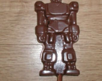 Large Robot Lolly Chocolate Mold