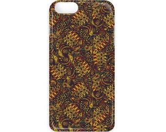 Zentangle Fish Print Phone Case